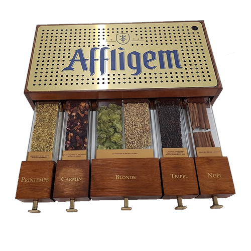 AFFLIGEM-POPAI-AWARDS-2018-Beverage-Counter-Bar-SILVER-niestandardy