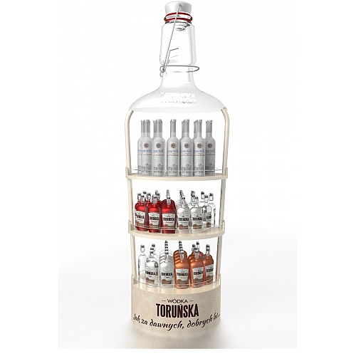 Torunska-POPAI-AWARDS-2018-Beverage-Floor-display-SILVER-niestandardy